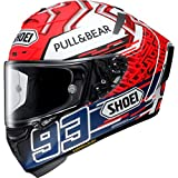 Shoei X-SPIRIT 3 MARQUEZ 5 TC1 RED ANTH MEDIUM HELMET
