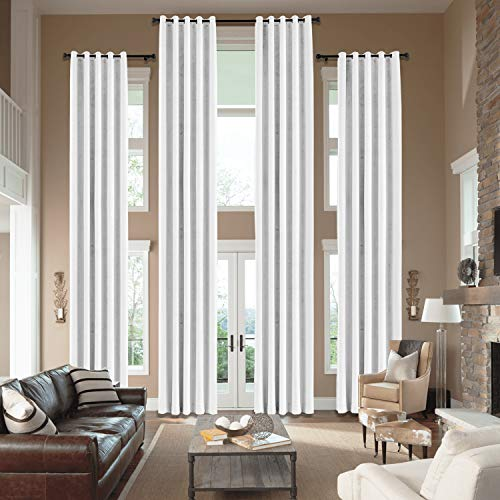 cololeaf Extra Long Velvet Curtains Drapes for high Ceiling 12, 15, 16, 18, 20, 22, 24 feet Long for Living Room Wide Drapes Custom Made Pricing Adjuster for Special Size Special Header Type