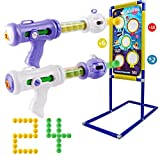 NATTHSWE Juego de Tiro, objetivos de disparo juegos al aire libre para niños, adecuado para niños y niñas de 5 6 7 8 9+ años regalos de Navidad, regalos de cumpleaños de Año Nuevo Años