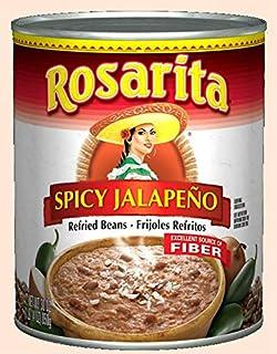 Rosarita Spicy Jalapeno Refried Beans, 30 Oz