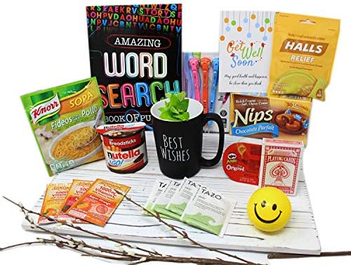 GET WELL SOON gift for Men women kids teen Care Package gift basket for him surgery recovery product image