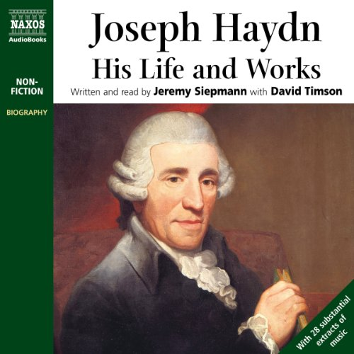 Joseph Haydn audiobook cover art