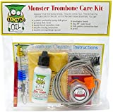 Monster Trombone Care and Cleaning Kit | Slide Cream, Slide Grease, Mouthpiece Brush. Everything You Need to Take Care of and Clean Your Trombone