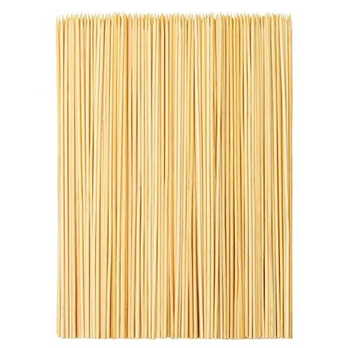 TOMYEER Tomeer Grillspieße aus Bambus, 25,4 cm, 300 Stück