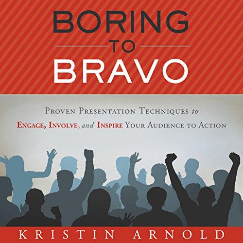 Boring to Bravo audiobook cover art