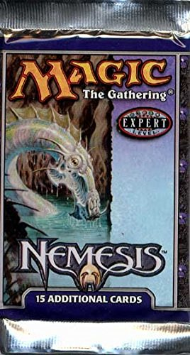 1 One Pack of Magic the Gathering MTG Nemesis Booster Pack 15 Cards