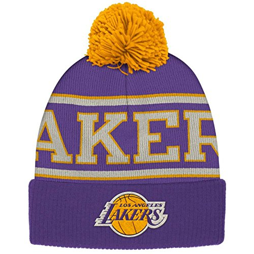 adidas Men s NBA Cuffed Pom Knit Hat a04f7f44af2