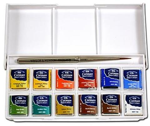 Winsor & Newton Cotman Water Colour Sketchers' Pocket Box 1 pcs sku# 1841676MA