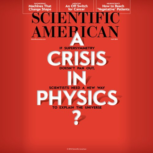 Scientific American, May 2014 audiobook cover art