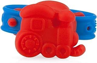 Nuby Vibe N' Teethe Vibrating Wristband Teether -Train