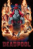 lcyqq 1000 Teile Puzzle - Deadpool Movie Poster 2,