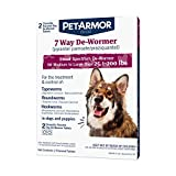 Best Dog Dewormers - PetArmor 7 Way De-Wormer (Pyrantel Pamoate and Praziquantel) Review