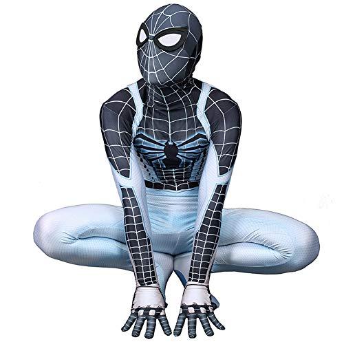 Ropa Hombre ArañA, Hombre ArañA Ps4 Juego del Traje De Cosplay, Adulto NiñOs Superhero Disfraz Mono,Male-XXXL