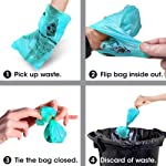 Bags on Board Strong, Leak Proof Dog Poop Pick-up Bags - Ocean Breeze scent (140 Bags) 10