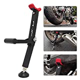 Motorcycle Rear and Front Wheel Lift Stand Trail Stand Easy And Portable-Second Generation New Design for Most Motorcycle Wheels