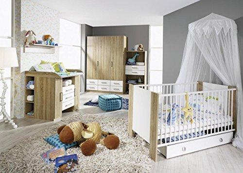 Babyzimmer mit massiver Wickelkommode gestalten
