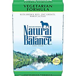 Natural Balance Vegetarian Dry Dog Food Vegan Formula