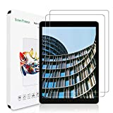[2 Pack]ZoneFoker New iPad 8th Generation Screen Protector (10.2-inch,2020 Releases), iPad 7th Generation Screen Protector, [Anti-Scratch][Easy Installation][Bubble Free] Tempered Glass
