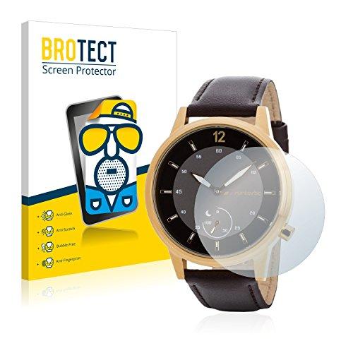 BROTECT 2X Entspiegelungs-Schutzfolie kompatibel mit Runtastic Moment Classic Bildschirmschutz-Folie Matt, Anti-Reflex, Anti-Fingerprint