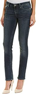 Women's Slim Straight Fit Stretch Jeans in Evening Sky