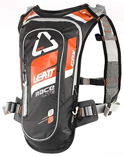 Leatt Brace GPX 2.0 Race HF Hydration Pack-Orange/Black