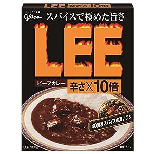 """江崎グリコ ビーフカレーLEE辛さ×10倍 180g"""""""