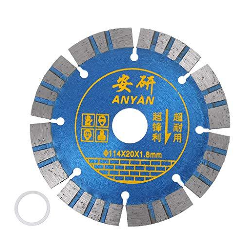 A0127 Disco de corte de cerámica de diamante de 10 cm para cortar porcelana, azulejos y mármol.