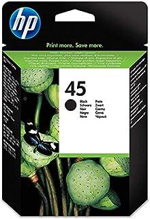 HP 45 51645AE, Negro, Cartucho de Tinta Original, compatible con impresoras de inyección de tinta HP Deskjet 710c, 720c, 815c, 850c, 930, 980cXi, 1180c, 1215; Officejet T45, T65, G55M (B0000D80FM) | Amazon price tracker / tracking, Amazon price history charts, Amazon price watches, Amazon price drop alerts