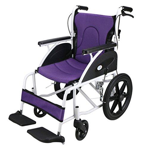 Kinderrollstühle Aluminiumlegierung Rollstuhl, Vier Jahreszeiten Kissen, ältere Menschen, Behinderte
