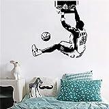 pegatinas de pared NBA Baloncesto Estrella Kobe Dunk Home Decor Dormitorio Dormitorio Dormitorio Decoración Poster