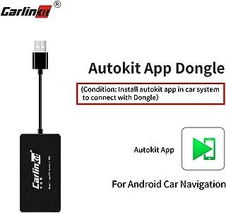 Carlinkit Wireless Carplay Dongle Compatible con la Unidad Principal de Android del Mercado de Accesorios admite Carplay/Android Auto/Mirroring, NO escompatible con Factory Carplay Car