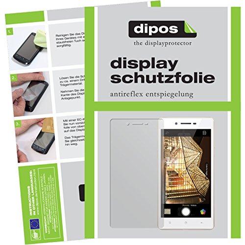 dipos I 6X Schutzfolie matt kompatibel mit Oppo Neo 7 Folie Bildschirmschutzfolie