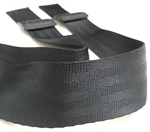 ZARPMA - Cintura di sicurezza a 2 punti, per bambini, per passeggino, seggiolone, seggiolone, seggiolone, passeggino, lunghezza 1,4 m