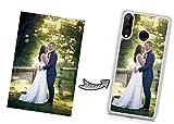 IDcaseFR Coque Silicone Bumper Souple Huawei Y7 2019 -Coque téléphone avec Photo personnalisée,...