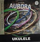 Aquila Colored Soprano Ukulele string by Aurora - Green