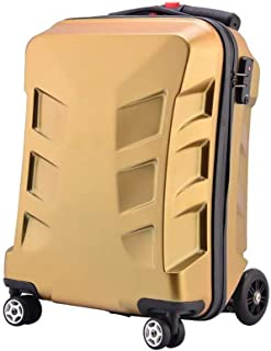 YUMILI Children Scooters Student Mini Trolley Suitcase Personalized Check-in Luggage 20 Inches (Color : E, Size : 20inches)