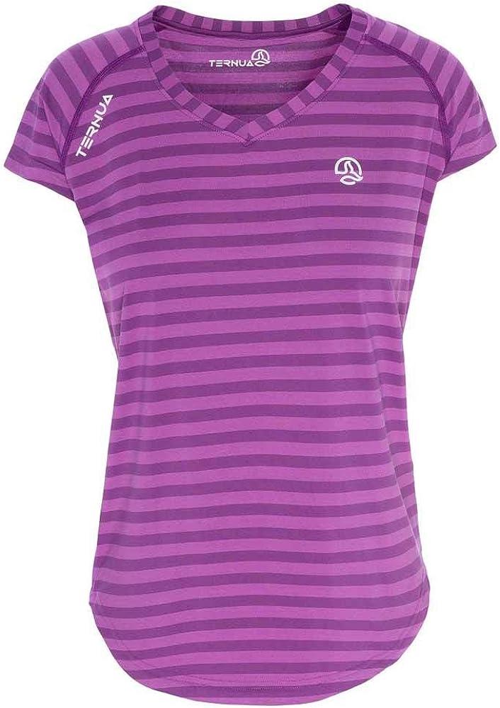 Ternua ® ® - Camiseta de Mujer thene Rayas moradas - m ...