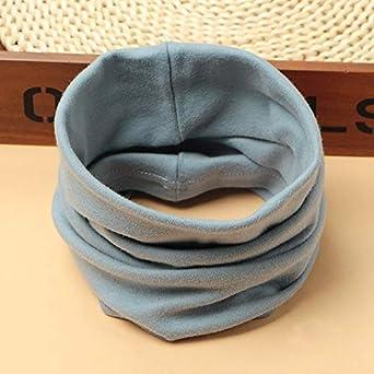 Boomly Baby Loop Schal Baumwolle Herbst Winter Nackenw/ärmer Halsband Einfarbig O Ring Schals Halstuch Schlauchschal F/ür 0-8 Jahre Jungen M/ädchen