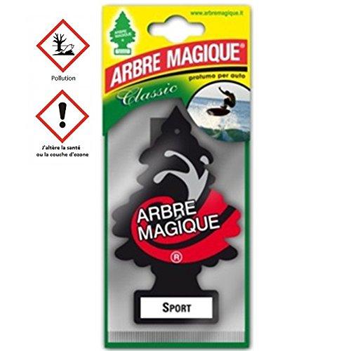 les colis noirs lcn Arbre Magique Sport - Accessoire Désodorisant Voiture - 265