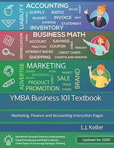 YMBA Business 101 Textbook: Marketing, Finance and Accounting (Youth Master of Business Administration)