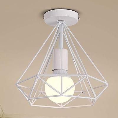 Industrial Lámpara de Techo Vintage Retro Luz Colgante 20cm ...