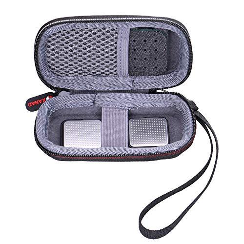Custodia rigida per alivecor kardia mobile ECG//ECG Monitor con pillola organizzatore con anel