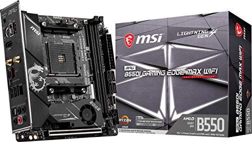 MSI MPG B550I Gaming Edge MAX WiFi Gaming ...