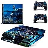 Adventure Games - PS4 ORIGINAL - Black Panther - Playstation 4 Vinyl Console Skin Decal Sticker + 2 Controller Skins Set
