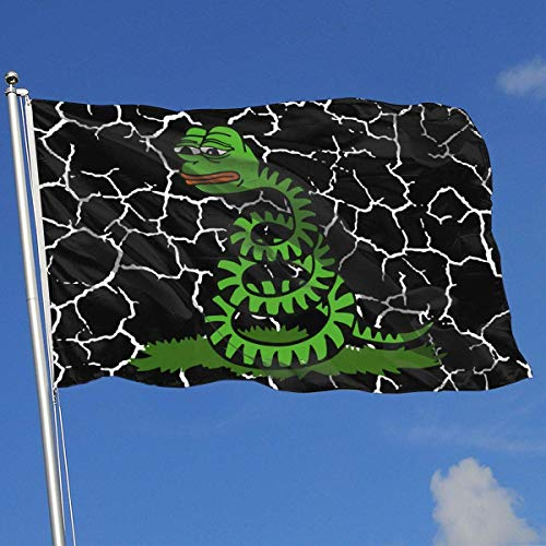 Gsixgoods Flagge Outdoor Flags Don't Tread On Memes 3X5 Ft Flag for Outdoor Indoor Home Decor Sports Fan Football Basketball Baseball Hockey