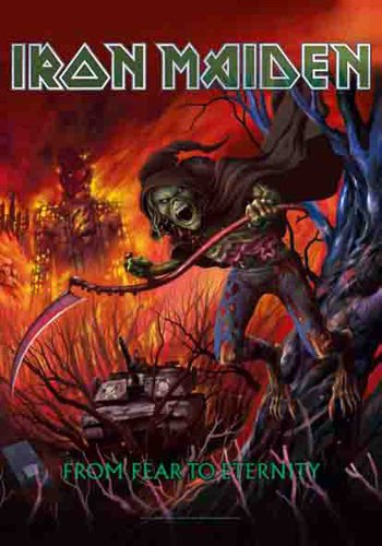Empire Merchandising Bandera de Iron Maiden de Miedo a Eternidad
