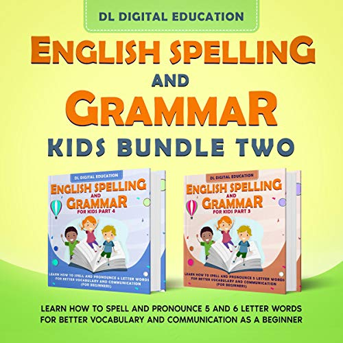 English Spelling and Grammar - Kids Bundle 2 cover art