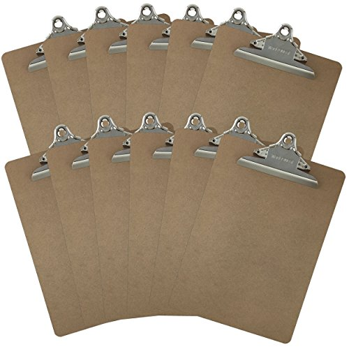 Letter Size Clipboards 9'' x 12....