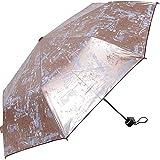 Paraguas Paraguas de Hueso con Corte UV 8 Medidas de Lluvia y Lluvia Uso Combinado Paraguas Orbital Damas de Moda Paraguas Plegable (Color : Red, Size : Free)