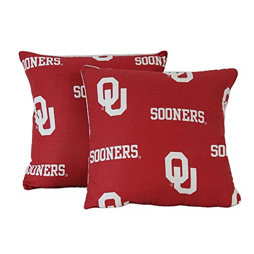 College Covers Oklahoma Sooners Decorative Pillow, 16